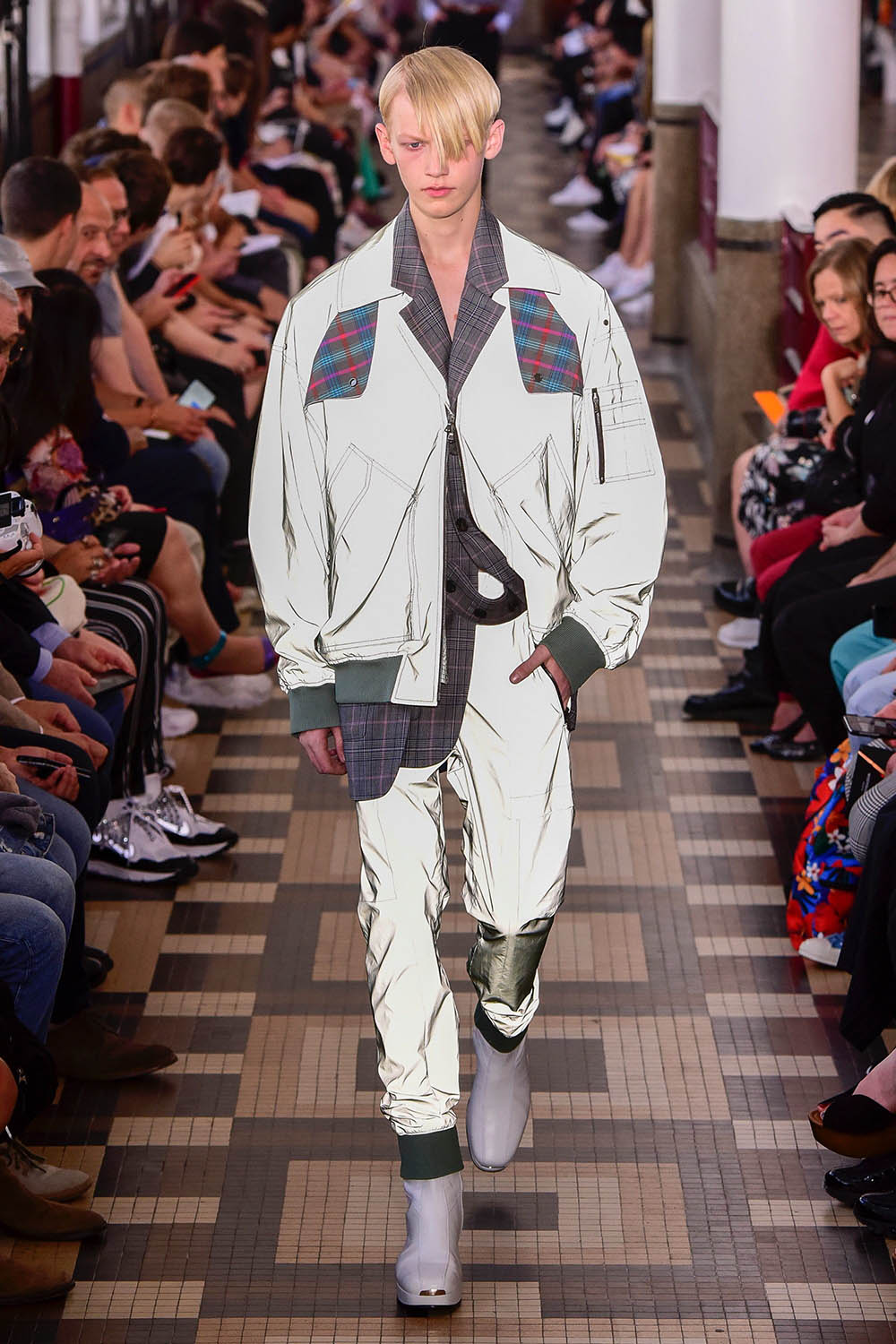 Wooyoungmi Paris Fashion Week Men's SS19 - Sagaboi - Look 26