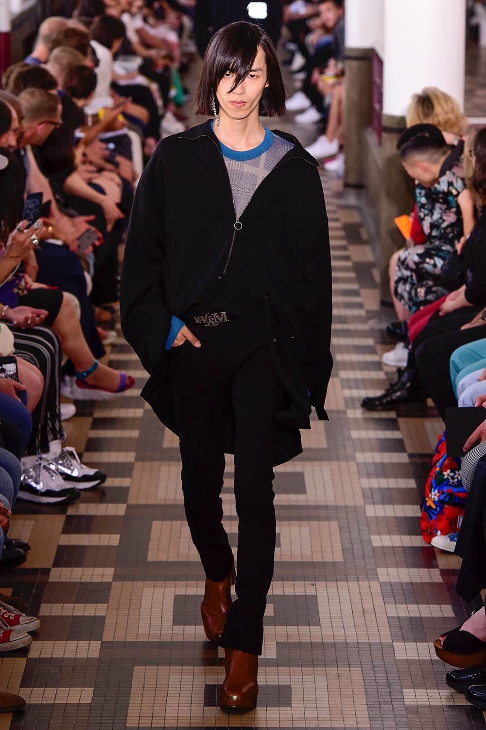 Wooyoungmi Paris Fashion Week Men's SS19 - Sagaboi - Look 34