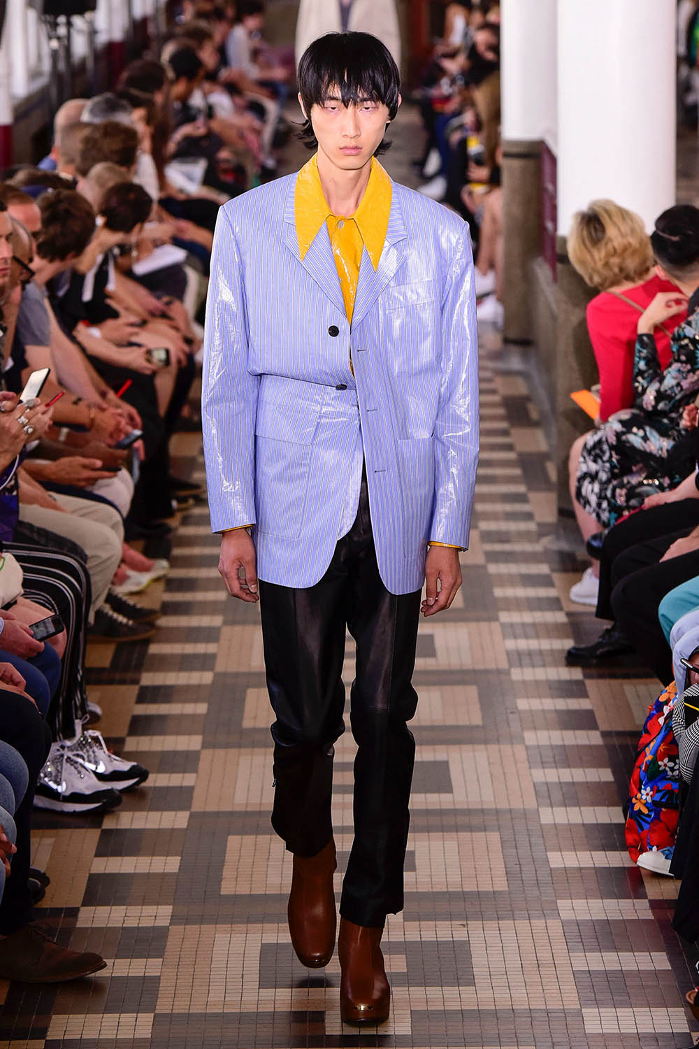 Wooyoungmi Paris Fashion Week Men's SS19 - Sagaboi - Look 5