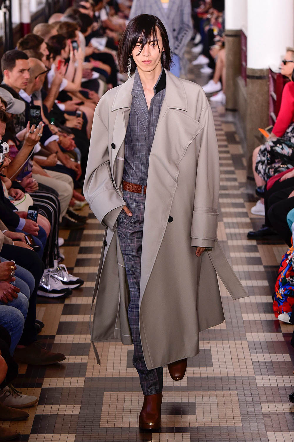 Wooyoungmi Paris Fashion Week Men's SS19 - Sagaboi - Look 7
