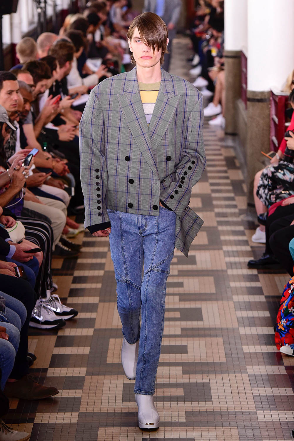 Wooyoungmi Paris Fashion Week Men's SS19 - Sagaboi - Look 8