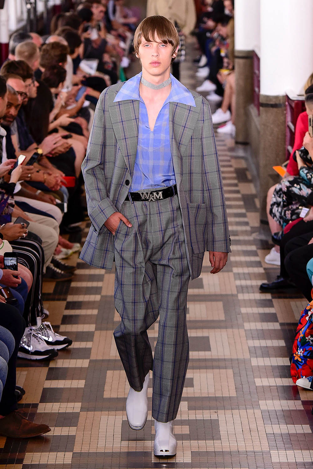Wooyoungmi Paris Fashion Week Men's SS19 - Sagaboi - Look 9