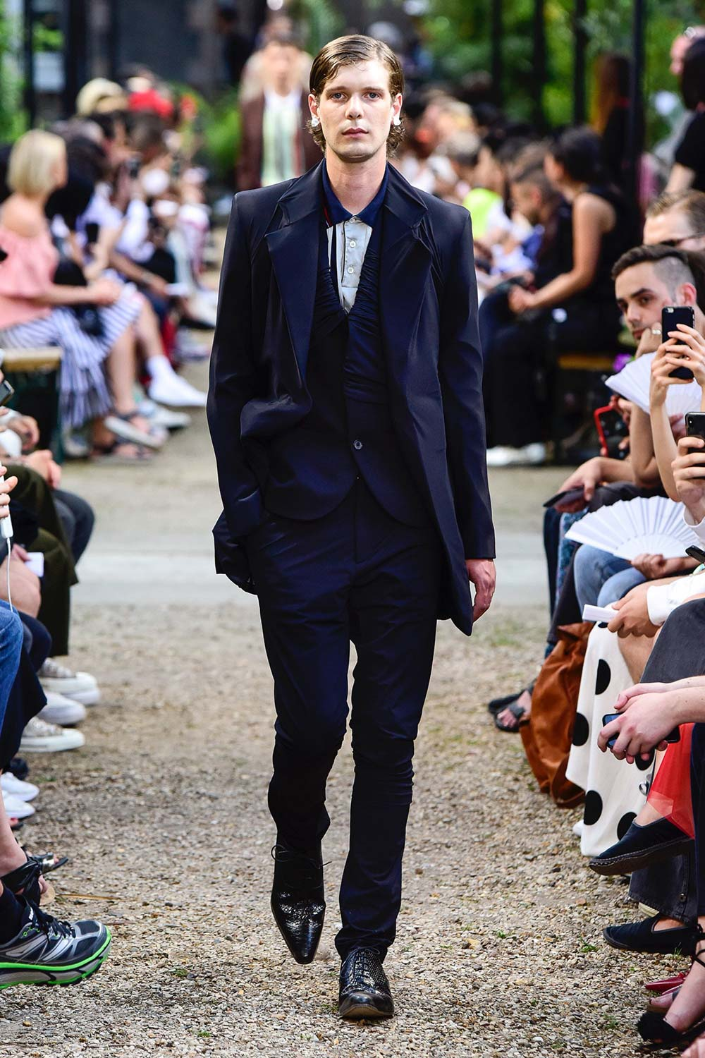 Y Project Paris Fashion Week Men's SS19 - Sagaboi - Look 1