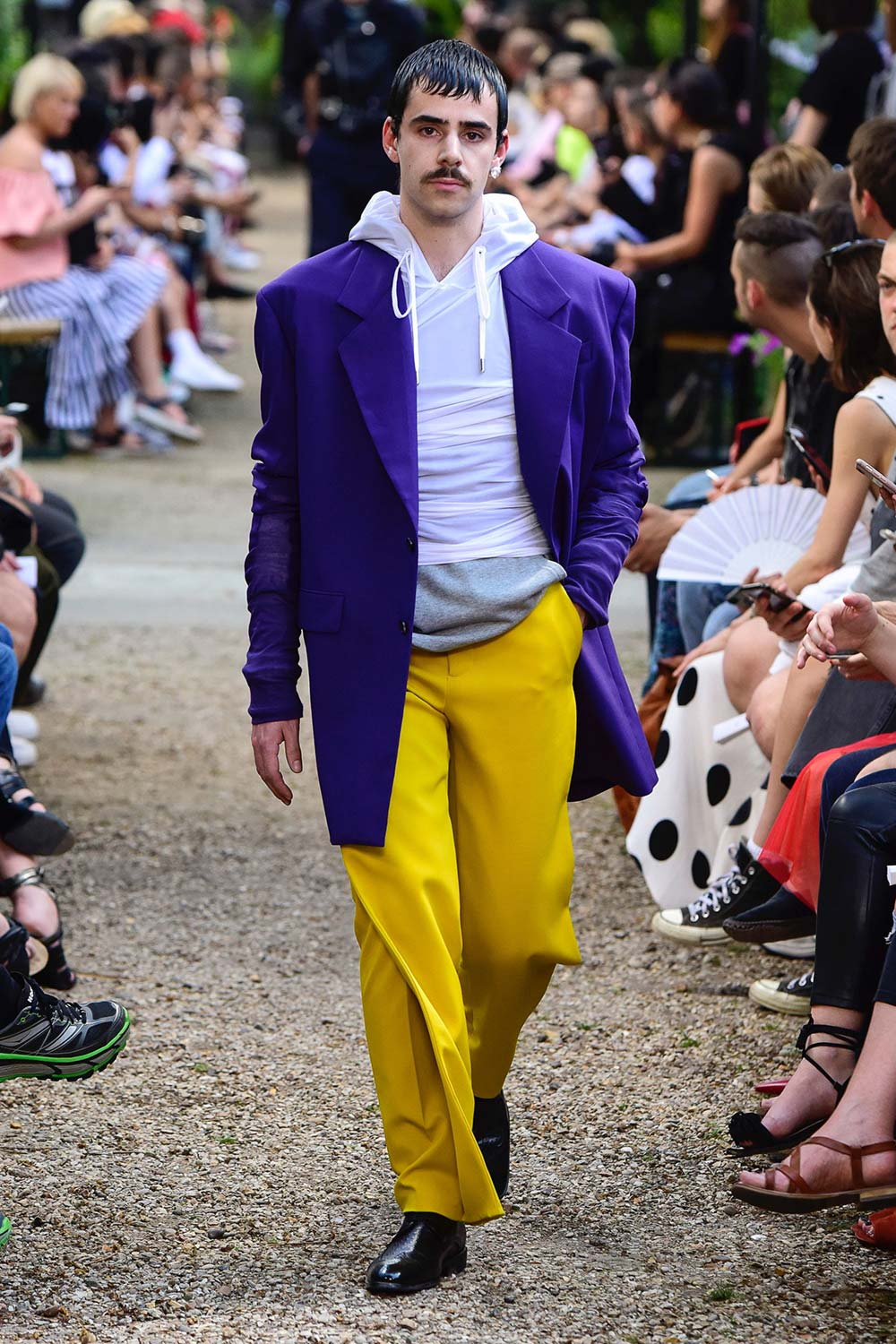 Y Project Paris Fashion Week Men's SS19 - Sagaboi - Look 12