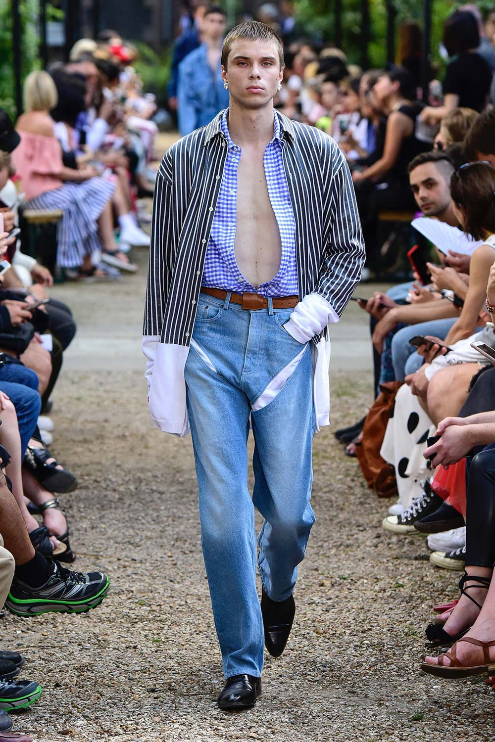 Y Project Paris Fashion Week Men's SS19 - Sagaboi - Look 22