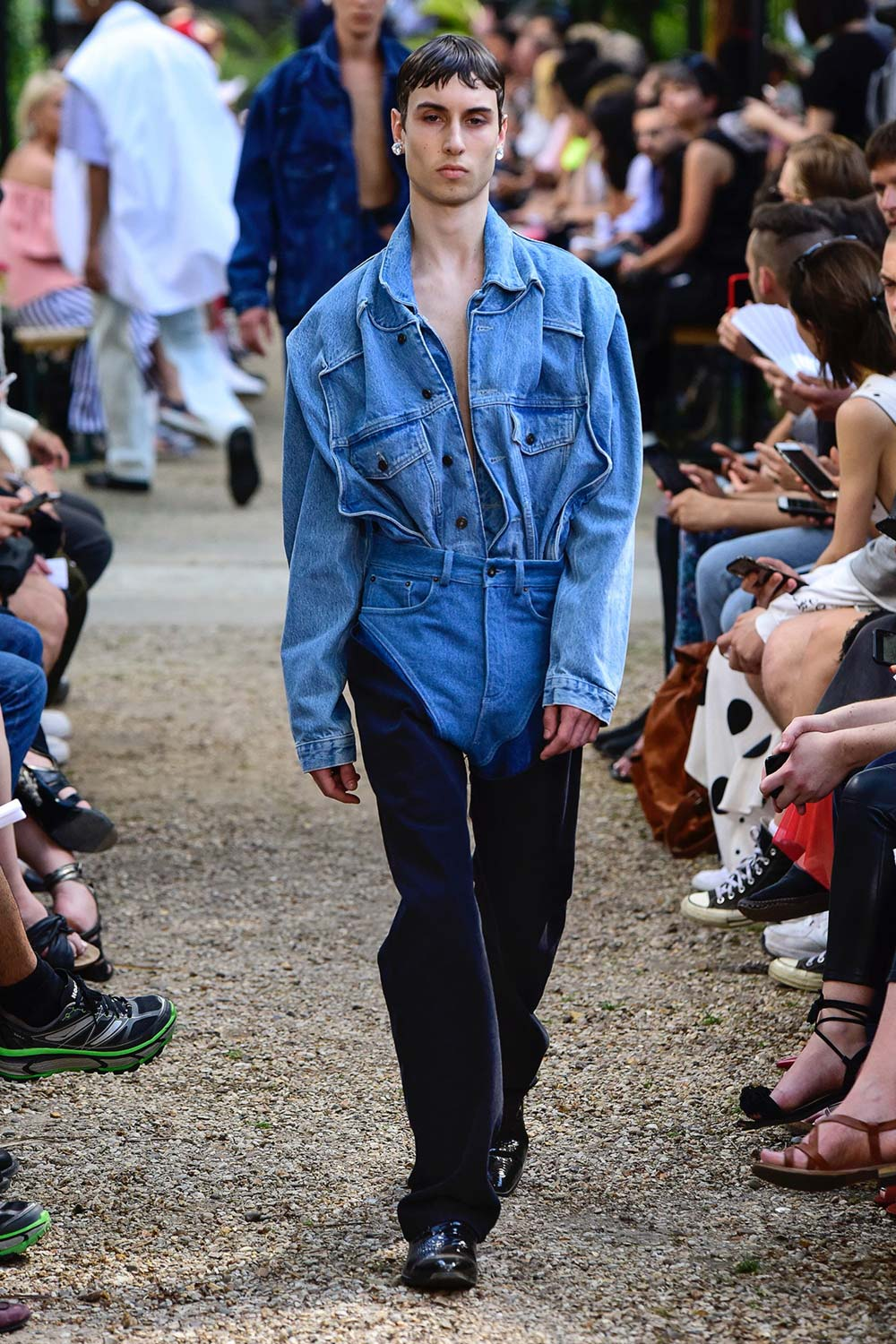 Y Project Paris Fashion Week Men's SS19 - Sagaboi - Look 23
