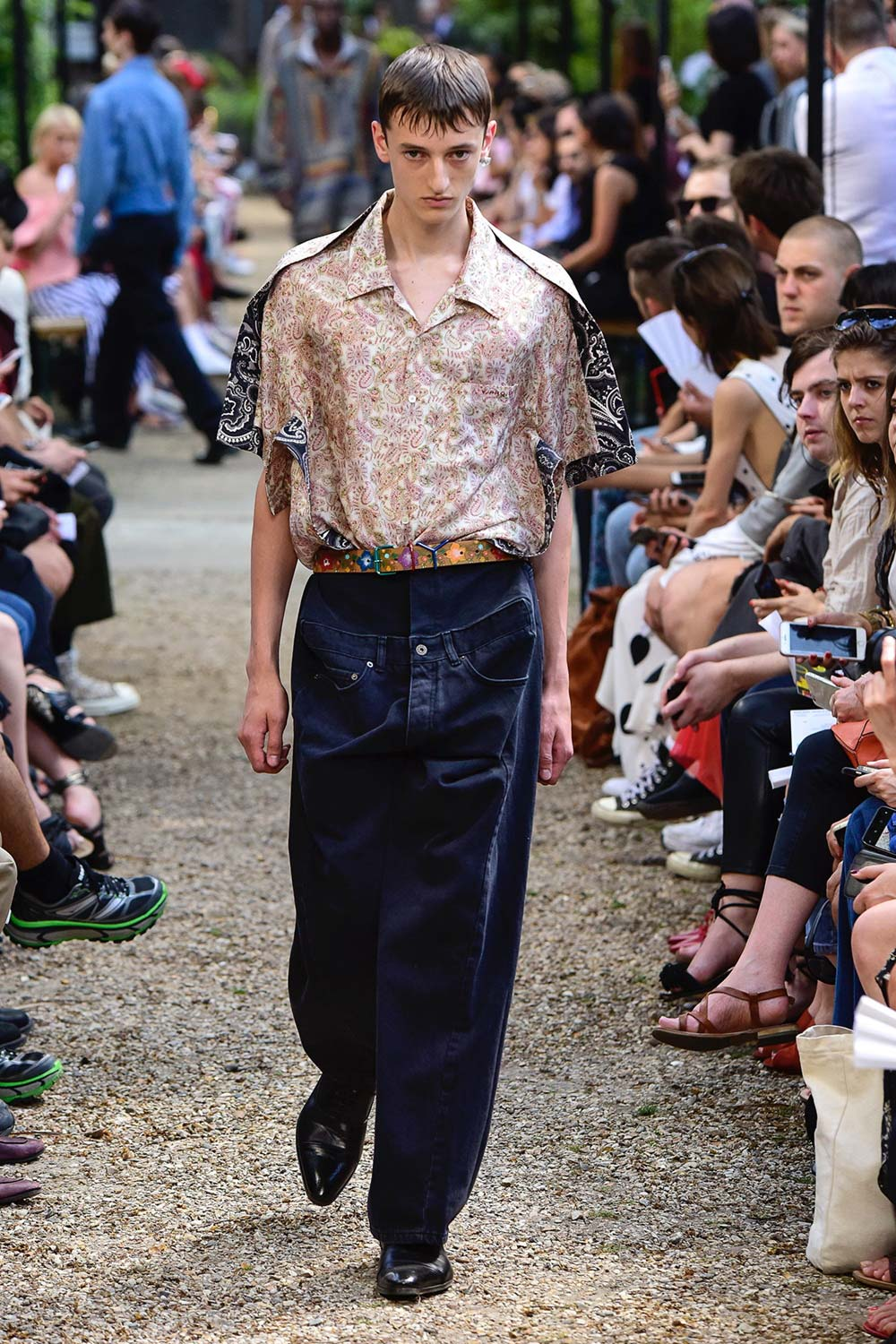 Y Project Paris Fashion Week Men's SS19 - Sagaboi - Look 27