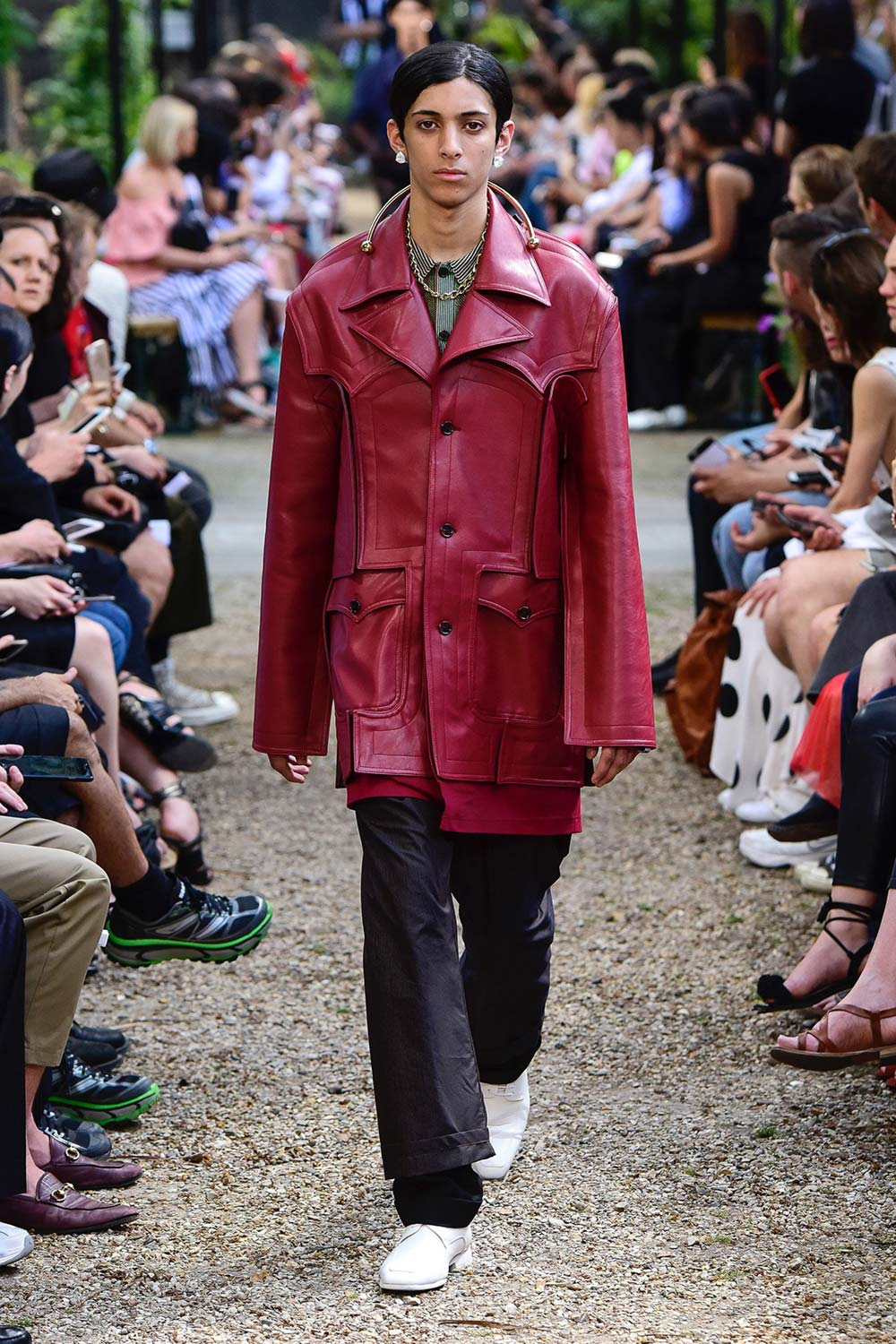 Y Project Paris Fashion Week Men's SS19 - Sagaboi - Look 33