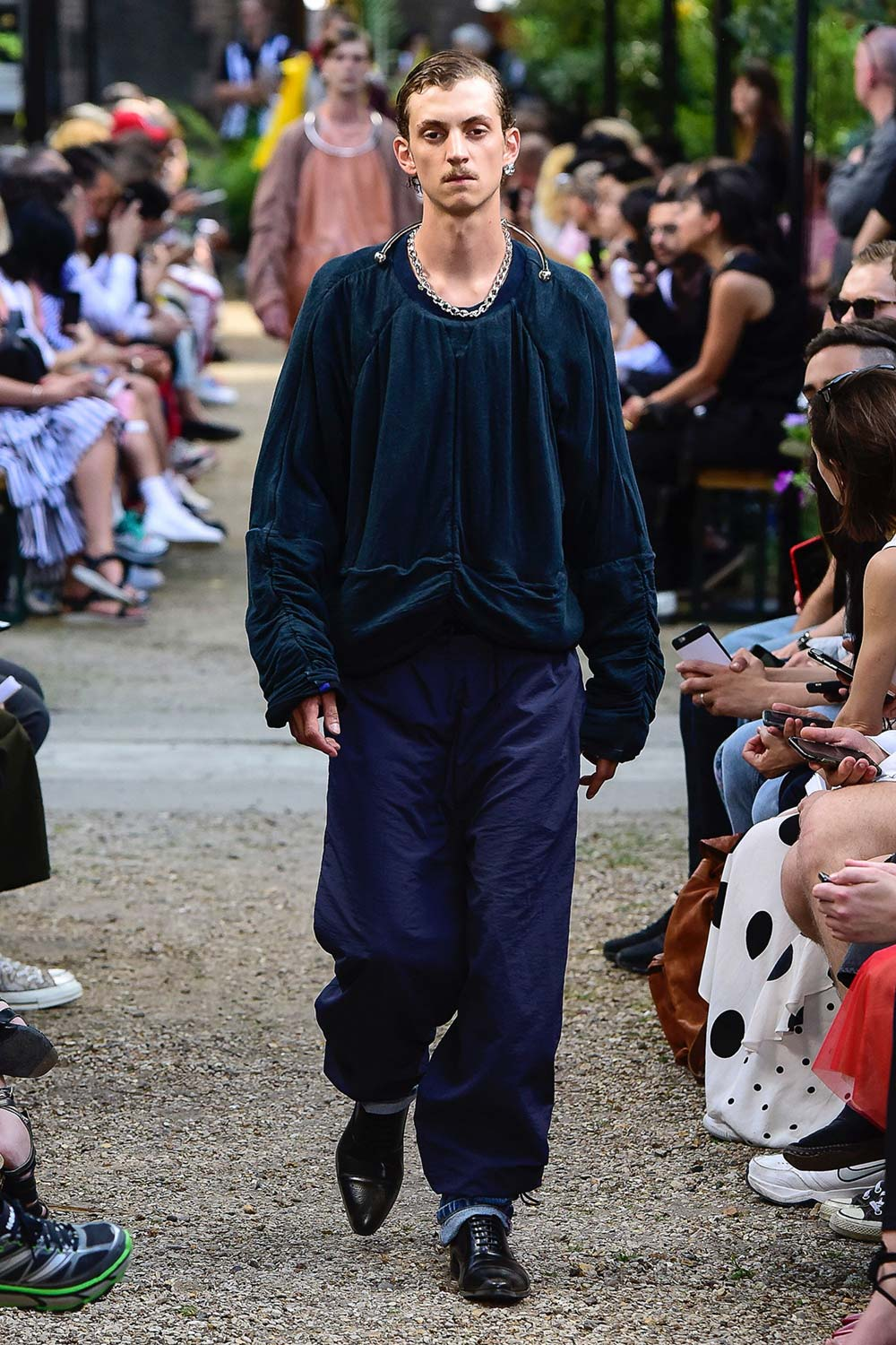Y Project Paris Fashion Week Men's SS19 - Sagaboi - Look 35