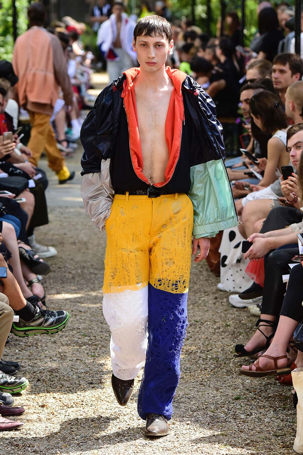 Y Project Paris Fashion Week Men's SS19 - Sagaboi - Look 38